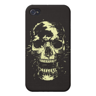 Scream gold version covers for iPhone 4