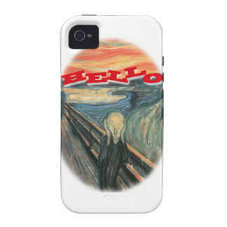 Scream Hello Case iPhone 4/4S Cases