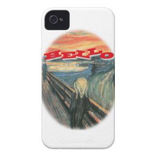 Scream Hello Case iPhone 4 Case