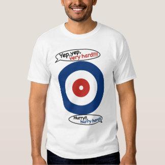 Scream!! Lock wind curling/YEP and VERY HARD T Shirt