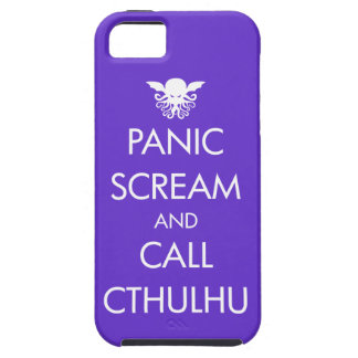 Scream Panic and Call Cthulhu Case For The iPhone 5