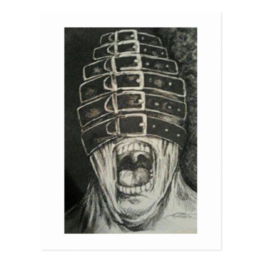 scream postcard