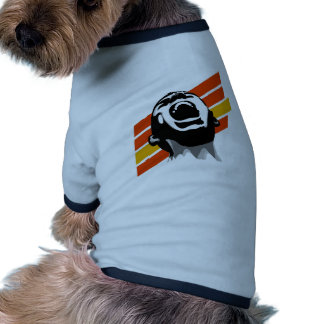 Scream stripes doggie tshirt