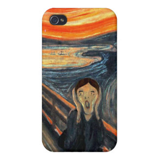 'Scream Woman' Speck Case Cover For iPhone 4