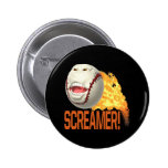 Screamer 6 Cm Round Badge