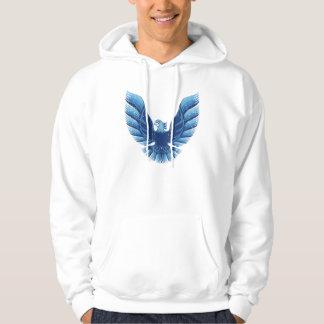 Screamin Eagle  Blue 2 Distressed Sweatshirts