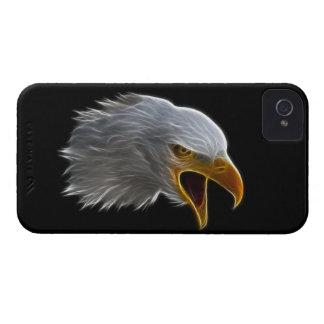 Screaming American Bald Eagle Head iPhone 4 Case-Mate Cases