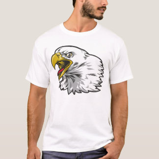 Screaming Bald Eagle T-Shirt