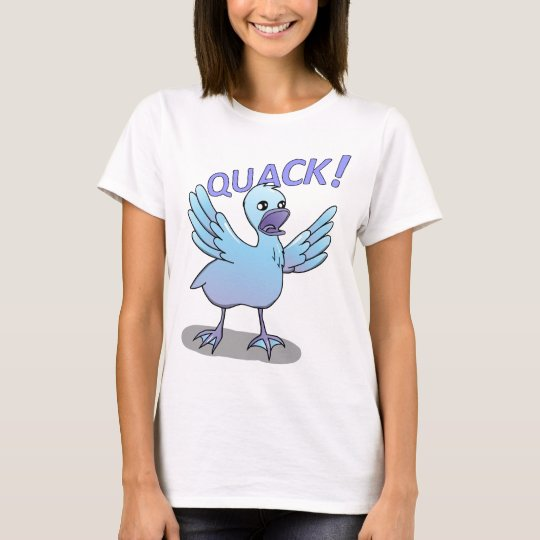 Screaming Duck Doodle Noodle Designs T-Shirt