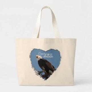 Screaming Eagle Customizable Tote Bags