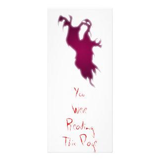 Screaming Ghost Bookmark Full Color Rack Card