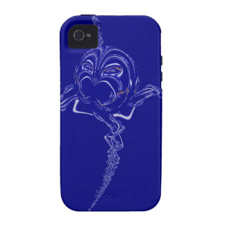 Screaming Glass Spider iPhone 4 Case