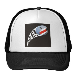 Screaming Golf Ball Cap