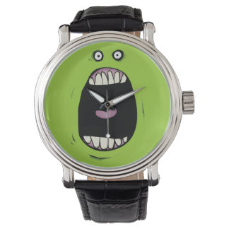 Screaming Green Monster Watch