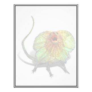 Screaming Lizard Flyer Design