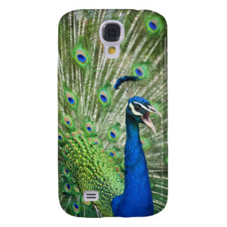 Screaming peacock galaxy s4 case