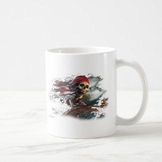 Screaming Pirate Captain by FishTs.com Mug