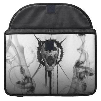 Screaming Skull Macbook pro Sleeve Protector
