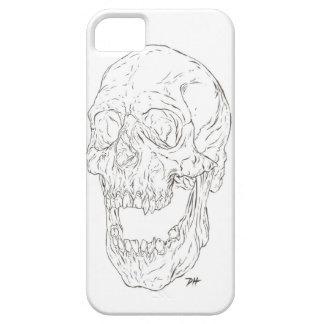 screaming skull phone case