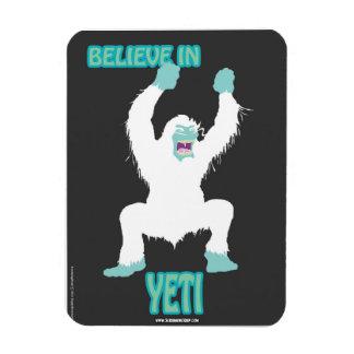 SCREAMING SOUP! Believe in Yeti Magnet