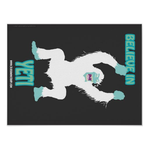 SCREAMING SOUP! Believe in Yeti Poster
