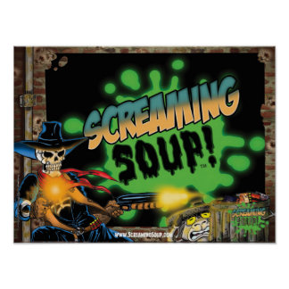 SCREAMING SOUP! Deadwest and Billy Shootout Poster