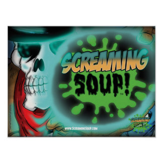 SCREAMING SOUP! Deadwest Sphere Poster
