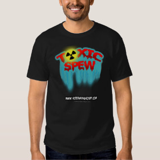 SCREAMING SOUP! Toxic Spew T-Shirt