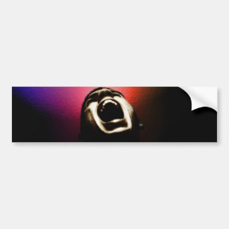 Screaming sticker