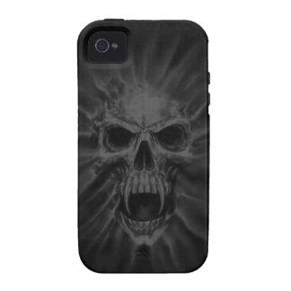 Screaming Vampire Skull iPhone 4 Case