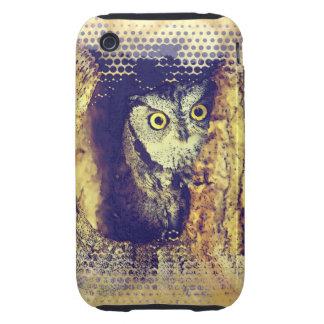 SCREECH OWL iPhone 3 Case-Mate Case