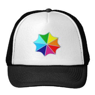 Screen umbrella hats