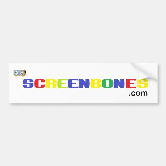 Screenbones.com Bumper Sticker