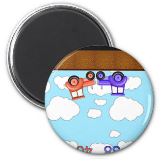 screenshot 6 cm round magnet
