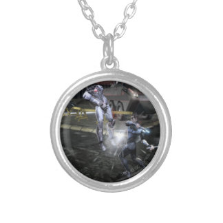 Screenshot: Cyborg vs Nightwing 3 Silver Plated Necklace