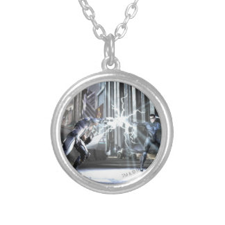 Screenshot: Cyborg vs Nightwing 4 Silver Plated Necklace