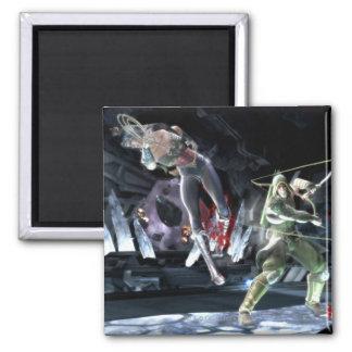 Screenshot: Wonder Woman vs Green Arrow Magnet