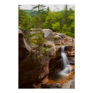 Screw Auger Falls, Maine Poster