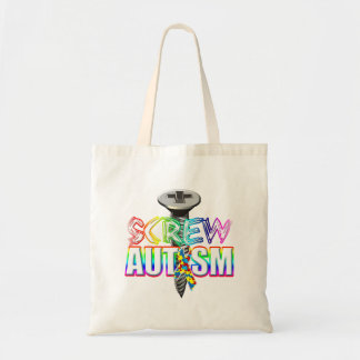 Screw Autism Tote Bag