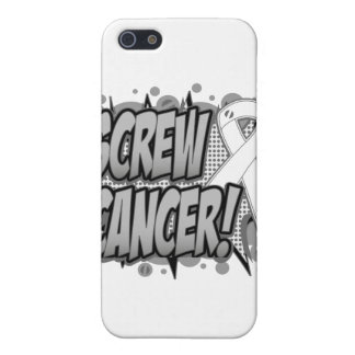 Screw Bone Cancer Comic Style Cases For iPhone 5