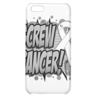 Screw Bone Cancer Comic Style Cover For iPhone 5C