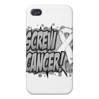 Screw Bone Cancer Comic Style iPhone 4/4S Cases