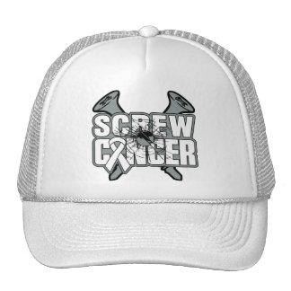 Screw Bone Cancer Trucker Hats