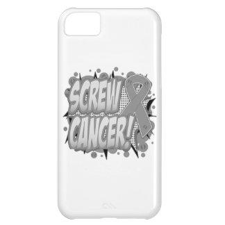 Screw Brain Cancer Comic Style iPhone 5C Case