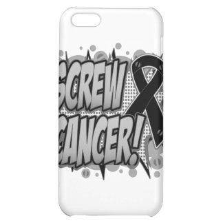Screw Cancer Comic Style iPhone 5C Case