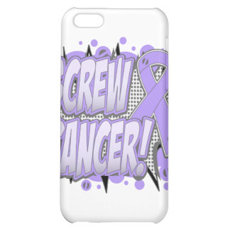 Screw Cancer Comic Style Cover For iPhone 5C