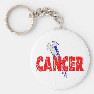 Screw Cancer Key Ring