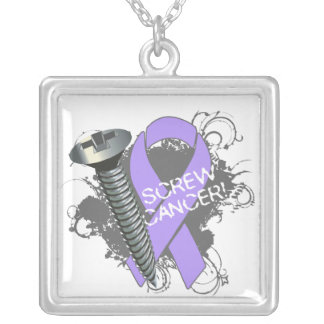 Screw Cancer Necklace