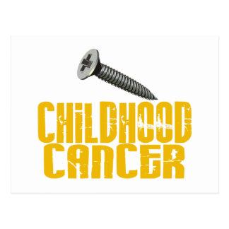 SCREW Childhood Cancer 1 Postcard