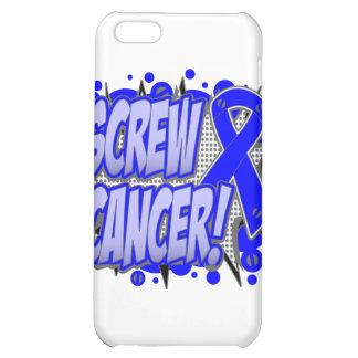 Screw Colon Cancer Comic Style iPhone 5C Cases